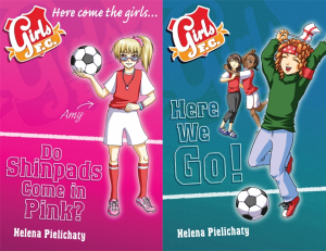Cover images for the final two Girls FC books