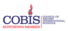 Logo for Council of British International Schools (COBIS)