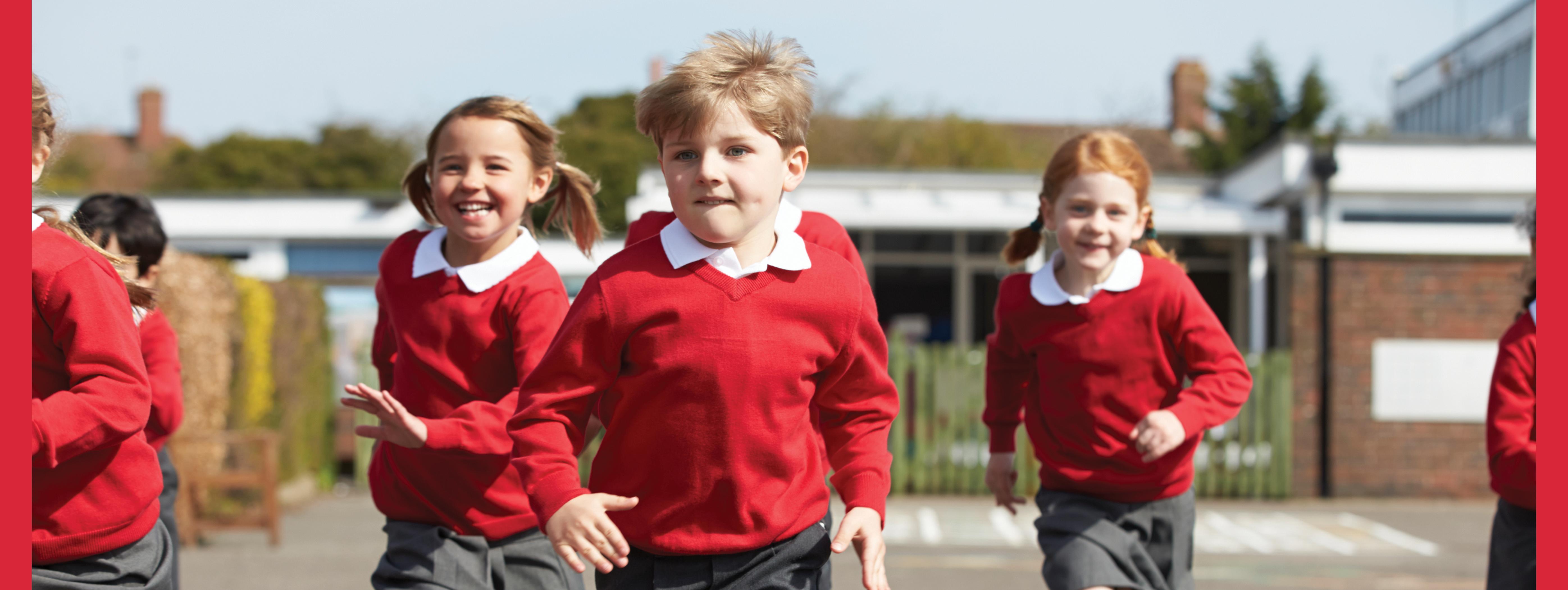 children running - path to assessment